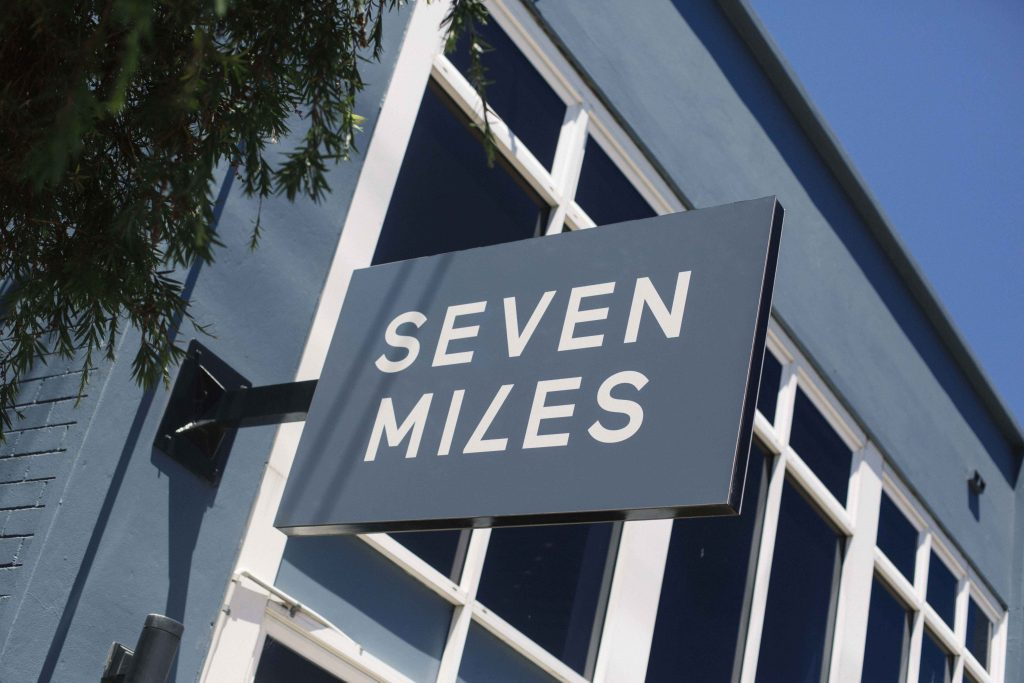 Photography from SEO & Social media Strategy of Seven miles signage