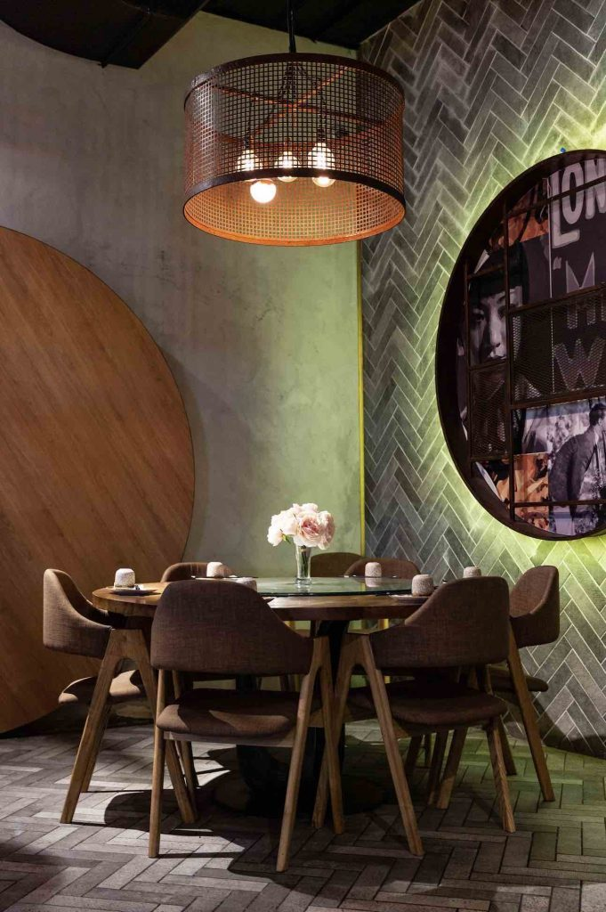 Hospitality PR Photography example of Broadway Sydney dining area