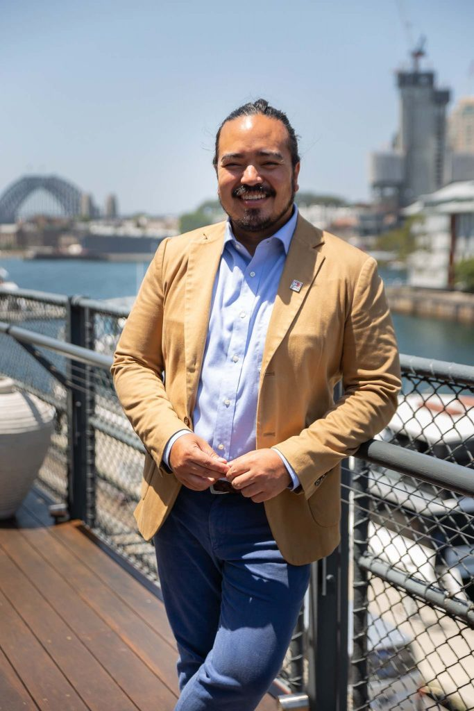Face of the brand for this pr event Adam Liaw, celebrity chef