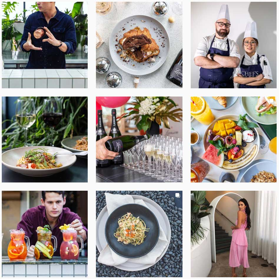 Example of The Fernery Mosman instagram feed well designed with high amount of followers