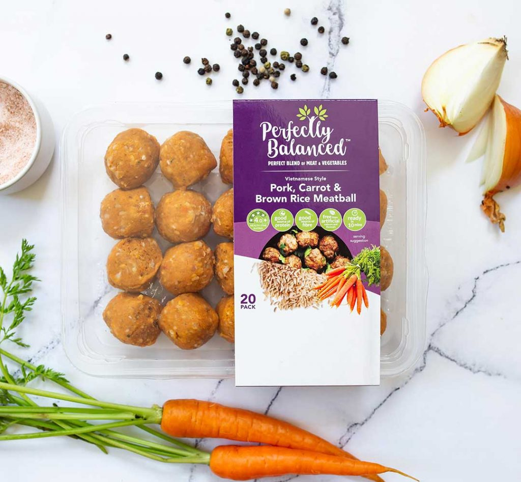 Flatlay for BE Campbell for food marketing campaign